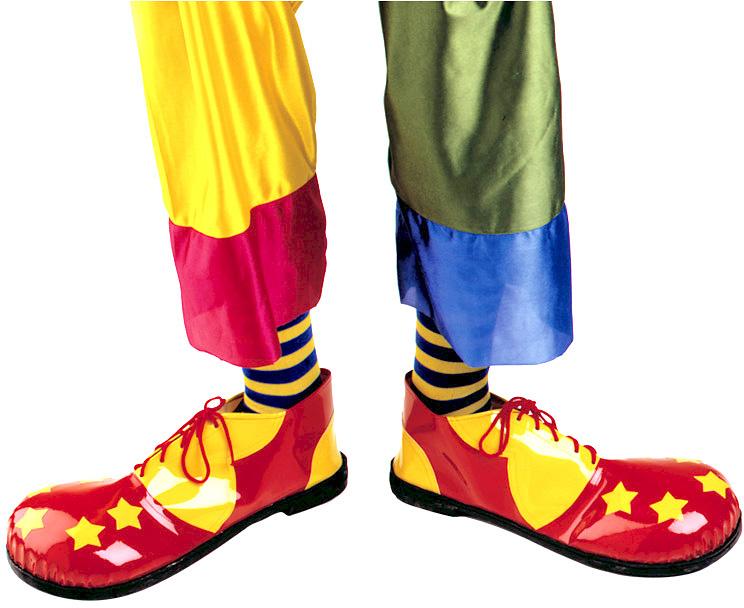 d9969aa0852 Αποκριάτικα Παπούτσια Κλόουν