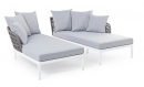 Pelican Πολυμορφικό Daybed  Σετ 2 Τεμαχίων