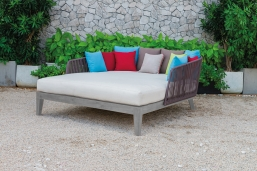Rope  Daybed Ξαπλώστρα Κήπου  155 εκ X  175 εκ